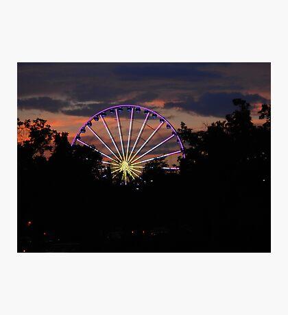 The Wheel I Photographic Print