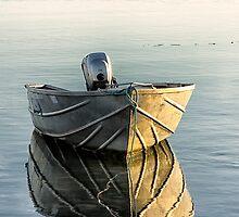 Boat at Dawn by Sandra Johnston