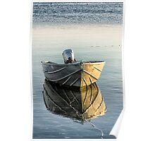 Boat at Dawn Poster