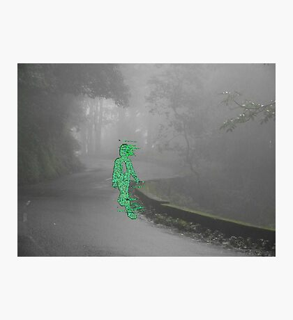 alone in the voidmatrix Photographic Print