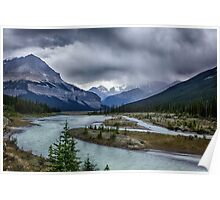 Athabasca River 2 Poster