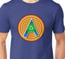 """Shirt #37 / 100 - The """"A"""" from the Space Jam logo Unisex T-Shirt"""