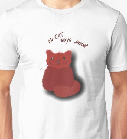 Mr. Cat Unisex T-Shirt