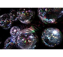 Shiny disco balls Photographic Print