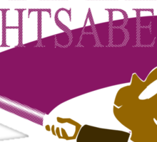 Mace and the Purple... Sticker