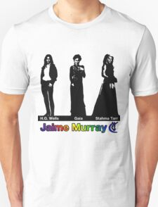 Jaime Murray characters (rainbow) - Warehouse 13, Spartacus, Defiance T-Shirt