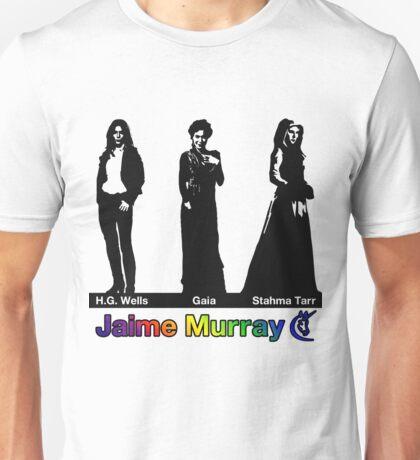 Jaime Murray characters (rainbow) - Warehouse 13, Spartacus, Defiance Unisex T-Shirt
