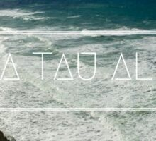 Zeta Tau Alpha California Sticker