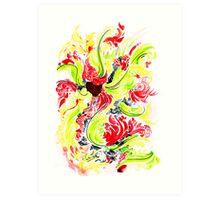 Colour stories I: Ilang Art Print