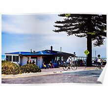Joe's Kiosk, Henley Beach, South Australia Poster