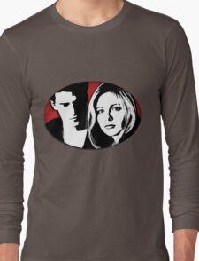 Buffy/Angel Motif Long Sleeve T-Shirt