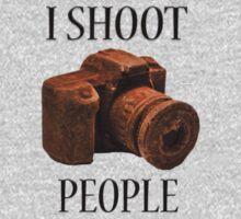 I Shoot People One Piece - Long Sleeve