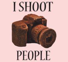 I Shoot People Baby Tee