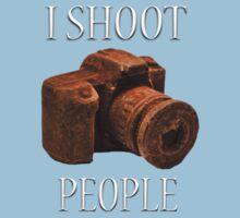 I Shoot People One Piece - Short Sleeve