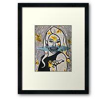 ZOMBIE DEL REY Framed Print