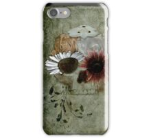 Flower Skull V4 iPhone Case/Skin