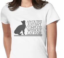 An outfit just isn't complete without cathair Womens Fitted T-Shirt