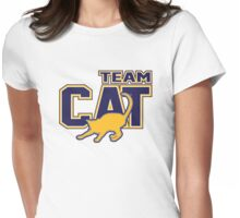 Team Cat Womens Fitted T-Shirt