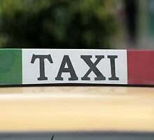 Taxi Sign by rhamm