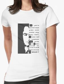 saul goodman breaking bad Kevin Costner Womens Fitted T-Shirt
