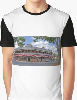 Great Northern Hotel, South Grafton, New South Wales, Australia, (panorama) Graphic T-Shirt