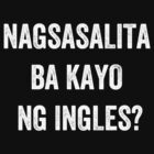 Do you speak English? (Filipino) (White) by EnglishAbroad