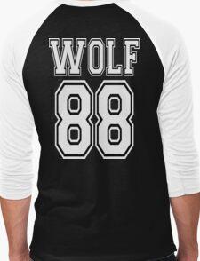 ♥♫WOLF 88-Splendiferous K-Pop EXO Clothing & Cases & Stickers & Bags & Home Decor & Stationary♪♥ Men's Baseball ¾ T-Shirt