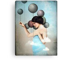 Letting go Canvas Print