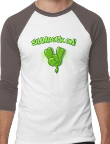 Shamrock On Men's Baseball ¾ T-Shirt