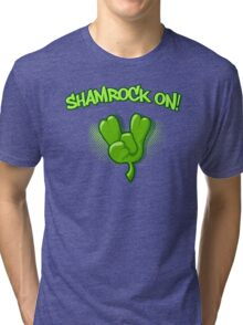 Shamrock On Tri-blend T-Shirt