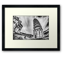 Leaning Tower Framed Print