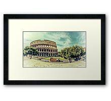Touristic Attraction Framed Print