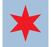 Chicago ✶ Star iPad Case (Light Blue) by Chicago Tee