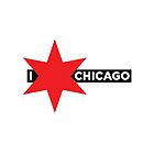I ✶ Chicago iPad Case (White) by Chicago Tee
