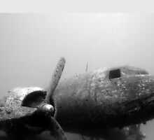 ww2 plane sunk by Pachy12