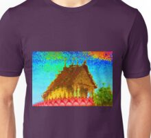 Thailand- Temple Abstract Reflection Unisex T-Shirt