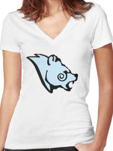 Stormcloak Emblem Women's Fitted V-Neck T-Shirt