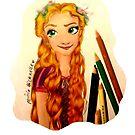 Tangled Rapunzel Princess Design by LittleMizMagic