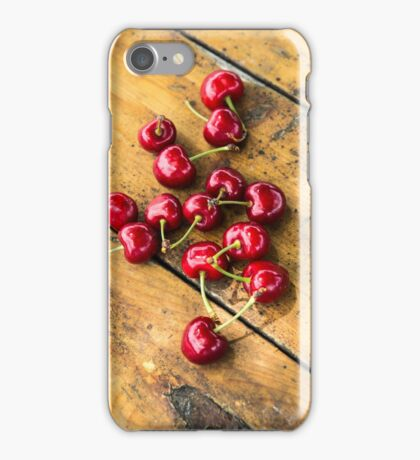 Fresh Cherry iPhone Case/Skin