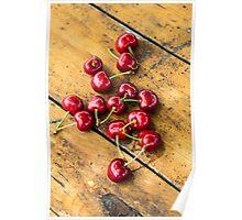 Fresh Cherry Poster