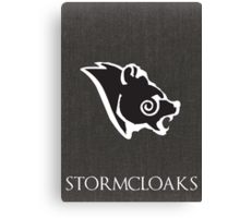 Stormcloak poster Canvas Print
