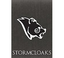Stormcloak poster Photographic Print