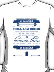 Doctor Who Quote T-Shirt