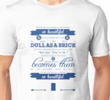 Doctor Who Quote Unisex T-Shirt