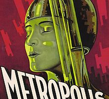 Metropolis Film Poster by Bridgeman Art Library
