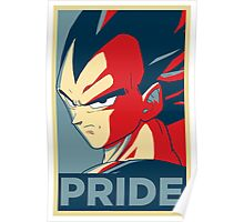 Vegeta's pride! Poster