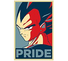 Vegeta's pride! Photographic Print