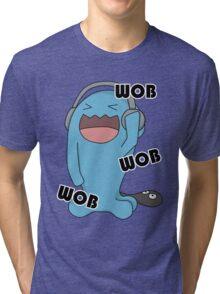 Wob Wob wobbuffet Tri-blend T-Shirt