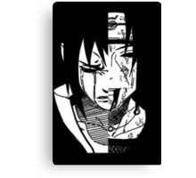 the uchiha brothers Canvas Print
