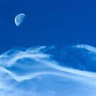 Moonship Over Boulder Colorado by nikongreg
